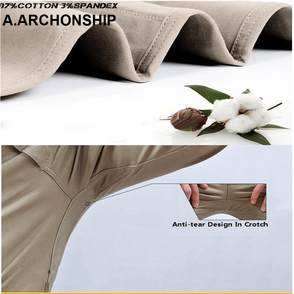 2019 IX9 II Men Militar Tactical Pants Combat Trousers SWAT Army Military Pants Mens Cargo Outdoors Pants Casual Cotton Trousers 4