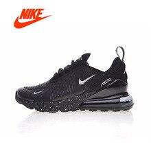 Nike Air Max 270 для мужчин's кроссовки оригинальный Новое поступление Аутентичные Спорт на открытом воздухе спортивная обувь дышащая удобная