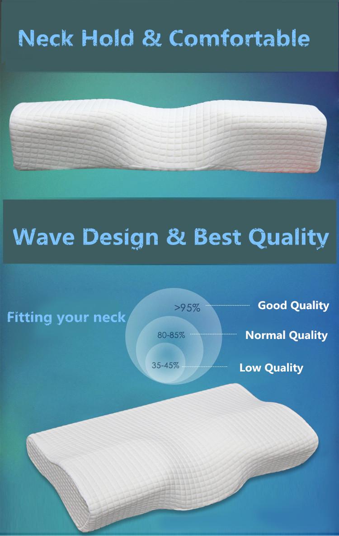 Orthopedic Latex Magnetic Neck Pillow 12