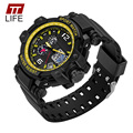 TTLIFE 729 homens Relógios Top Marca de Luxo Homens de Pulso Militar Relógios Homens Esportes Relógio À Prova D' Água Relogio masculino