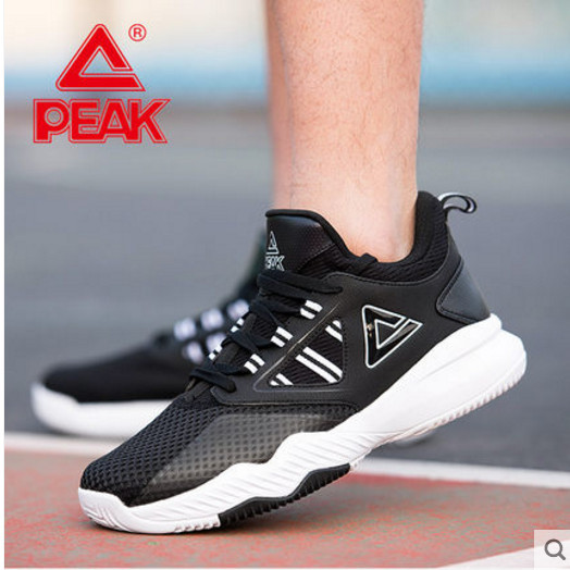 Пик Мужская обувь Баскетбольная обувь 2018 осень новые низкие ботинки сетчатая поверхность амортизация Нескользящая одежда DA820071