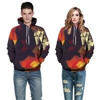 2017 Fashion Brand Game Drawstring Abstract Glow Hoodie 3D Print Hooded Men Women Sweatshirts Clothing Outwear