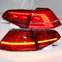 For VOLKSWAGEN Golf 7 LED Tail Lamp Red Color TC