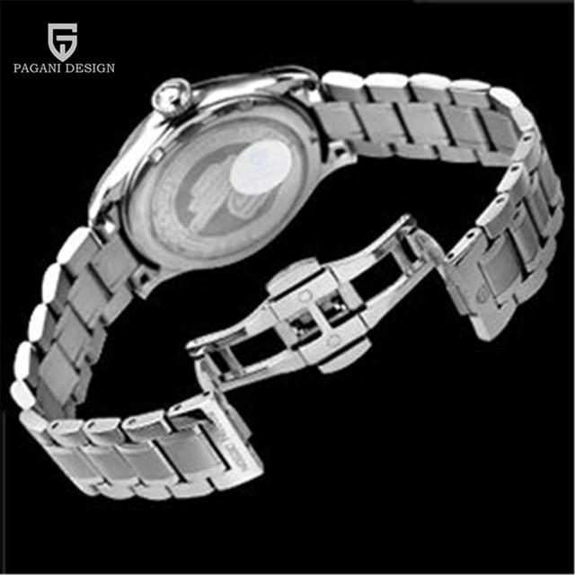 Men Waterproof Dress Quartz Watch Mens Watches Top Brand Luxury Wrist Watch Clock Man Hours 2017 Relogio Masculino PAGANI DESIGN