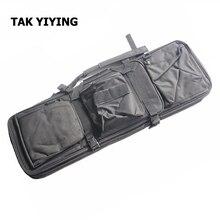 TAK YIYING Airsoft Тактический 85 СМ Двойной Винтовка Мешок с Плеча ремешок Серии M4 Высокой Плотности Нейлон Охота Военный Пистолет Мешок случае