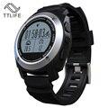 Температура Монитор Сердечного ритма Водонепроницаемый Bluetooth Smart Watch with GPS and Speed Meter Измерение и Призывом SMS Время Напоминания.