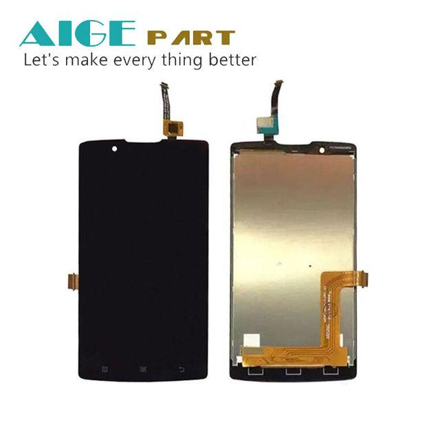 Branco/preto para lenovo a2010-a angus 2 display lcd com tela de toque digitador assembléia substituição smartphone