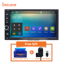 Seicane 7 inch Android 7.1 Universal Car Radio GPS Navigation Bluetooth Support 4G WIFI Network Reaview camera DVR 2din RAM 2GB