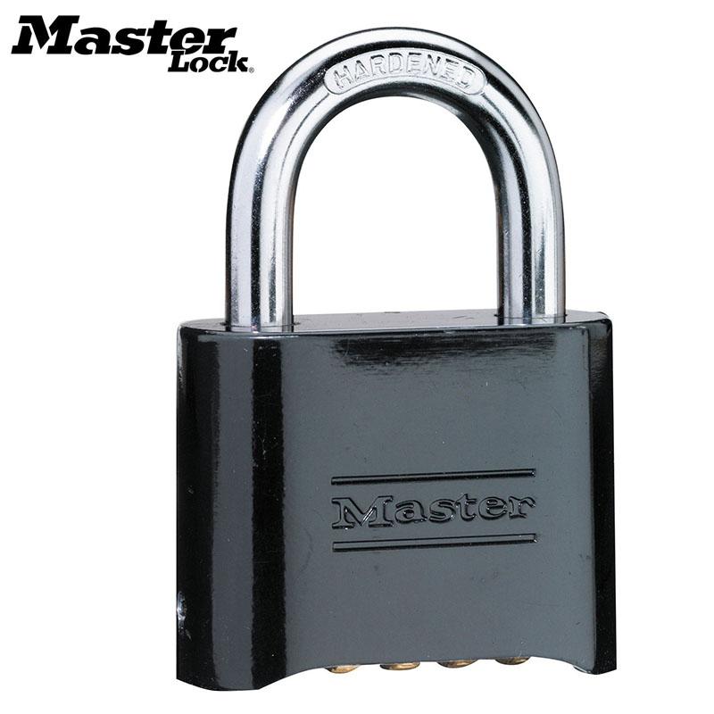 MASTER LOCK Tamper-proof Anti-corrosion Anti-rusting Waterproof Brass Password Combination Code Lock Padlock Anti-theft 178MCND