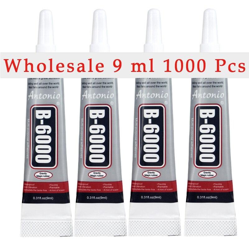 Wholesaler 1000 Tubes B 6000 Glue 9ml B6000 Free shipping