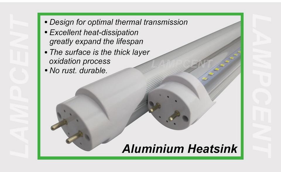 5S-T8-G13-Aluminium Heatsink