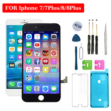 4.7 inch 5.5 No Dead Pixel For iphone 7 Plus 8 LCD Display And 3D Touch Screen Assembly Replacement