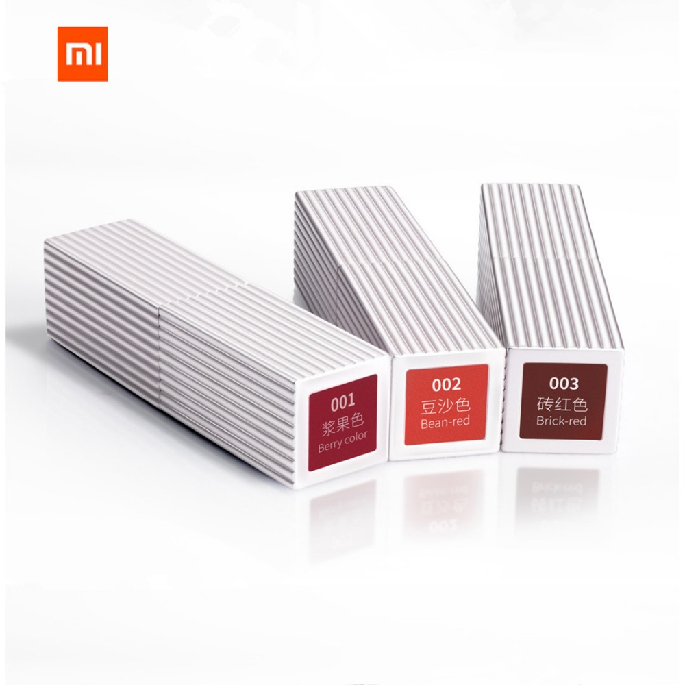 Original Xiaomi Mijia Suprefans Make Up Nude Lipstick Long Lasting Lip Gloss Cosmetics Lipgloss 3 Color Can Choose It