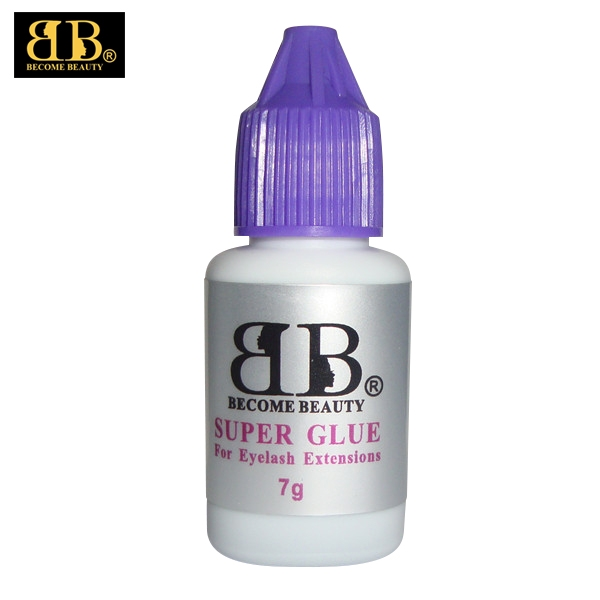BECOME BEAUTY Super glue type fastest drying time 1 second eyelash extensions glue for eyelash extensions