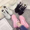 2016 женская обувь кроссовки Осень Зима тепловые женщины квартиры обувь zapatillas deportivas mujer chaussures femme бесплатная доставка