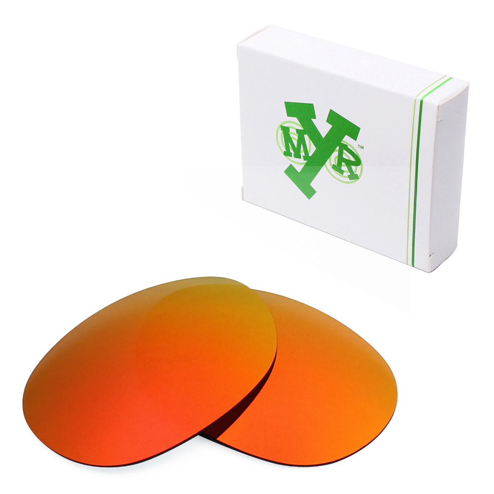 e9bdd63770 Mryok POLARIZED Replacement Lenses for Oakley Dangerous Sunglasses Fire Red