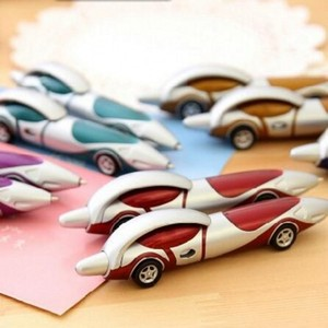 Image 5 - 24Pcs/Lot Creative Cartoon Plastic Car Ballpoint Pen Novelty Personality Ball Pens Items Korean Stationery Supplies 7011