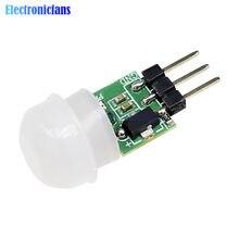 Diymore – Mini capteur de mouvement infrarouge pyroélectrique, Module de détection automatique de mouvement PIR, AM312 DC 2.7 à 12V