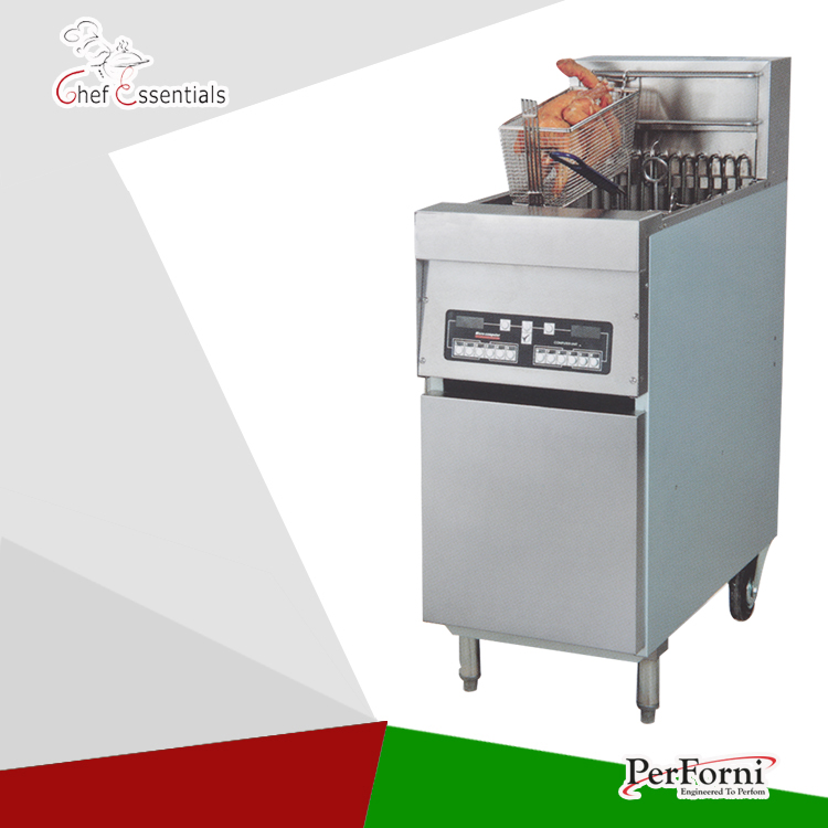 PKJG-DF30 Electric 1-Tank Computer Fryer, 2-Basket, for Commercial Kitchen salter air fryer home high capacity multifunction no smoke chicken wings fries machine intelligent electric fryer