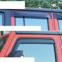 Lsrtw2017 ppma окна автомобиля дождь щит для jeep wrangler JL 2018 2019
