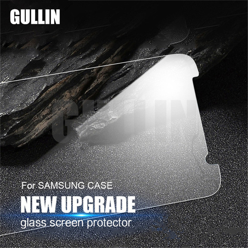 GULLIN 2.5D 9H Anti Shatter Tempered Glass For <font><b>Samsung</b></font> Galaxy <font><b>J2</b></font> J3 J5 J7 Prime 2017 <font><b>Screen</b></font> Protector For <font><b>Samsung</b></font> A3 A5 A7 <font><b>2018</b></font> image