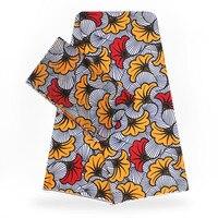 YBG!High Quality african wax print fabric Brand Stretch Satin Silk Fabric Cloth Silk Hot Sale Wholesale 4+2 yards/lot ! L62203