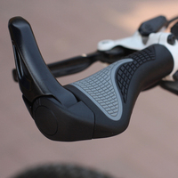 New Ergon Bar End Handlebar Cycling Grips Bicycle Mountain Bike MTB Ergonomic Bike MTB Rubber Aluminum