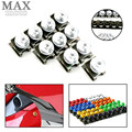 6MM Motorcycle Accessories Fairing body Bolts Screws for yamaha fz1 fazer fz6r fz8 xj6 fz6 mt-09 FZ-09 Suzuki GS500 GS 500