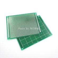 5 Pçs/lote 7*9 cm Único Lado Pcb Protoboard Breadboard Board Universal PCB Placa de Circuito de Fibra De Vidro Verde 7x9 cm