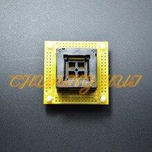 цена на QFP100 test socket TQFP100 LQFP100 ic socket with PCB 0.5mm pitch size 14mmx14mm 16mmx16mm