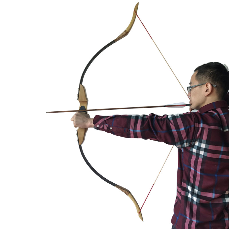 Chinese Handmade Traditional Bow Archery Hunting Takedown Recurve bow By Chinese Master Handmade Diy Archery Bow wholesale archery equipment hunting carbon arrow 31 400 spine for takedown bow targeting 50pcs