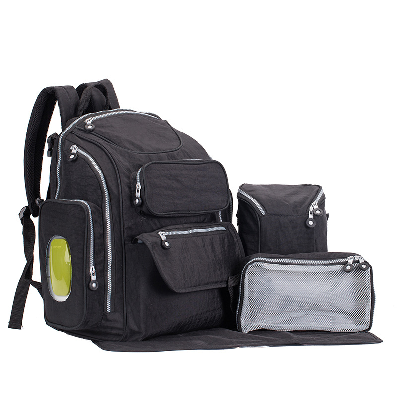 Mommy bag waterproof mummy bag 6 sets of multi-pocket diaper bag pregnant women supplies go out to be produced package dig it out mummy model excavation kit 5 set