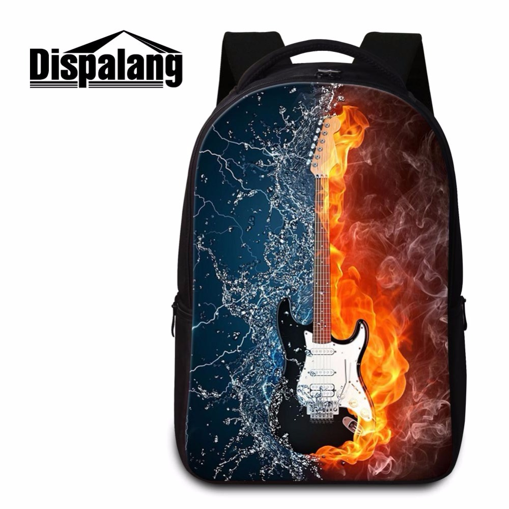Dispalang name brand book bags high school backpack hot bookbag for teens quality mochila laptop back bag Musical instruments disney mix max high school musical movie