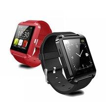 2016 neue Produkt 1 STÜCK Bluetooth Uhr Unterstützung Call Reminder Passometer für Reloj Smartwatch U8