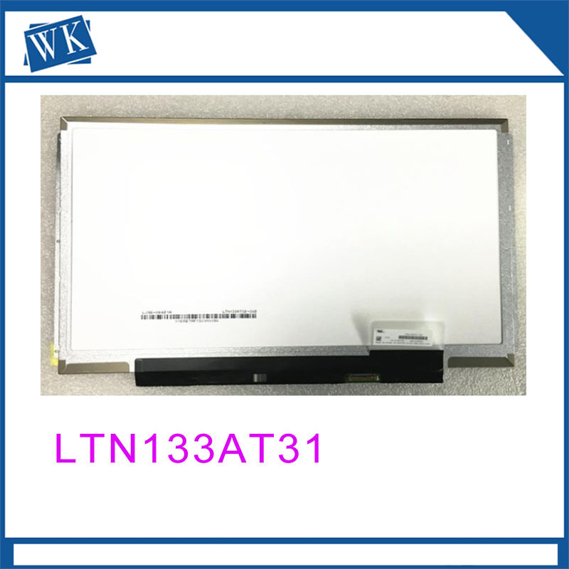 Free Shipping! LTN133AT31 HB133WX1-201 N133BGE-E31 B133XTN02.1 Laptop LED Display Screen 1366*768 EDP 30pinsFree Shipping! LTN133AT31 HB133WX1-201 N133BGE-E31 B133XTN02.1 Laptop LED Display Screen 1366*768 EDP 30pins