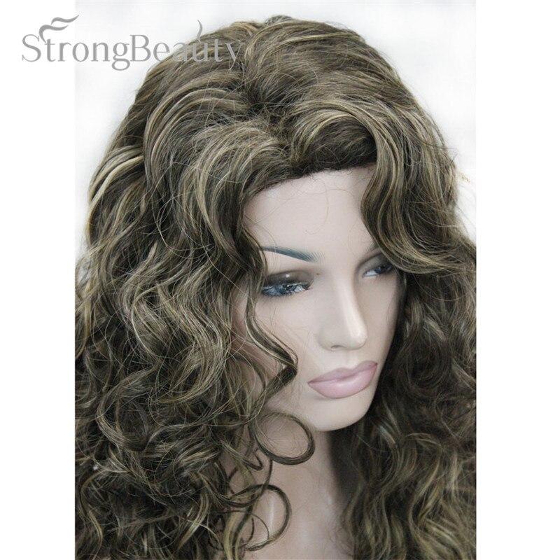 Image 5 - Искусственные волосы для женщин, светлые, золотистые, коричневые, длинные, волнистые, много цветов на выборwigs for womenwig fullwig wig  АлиЭкспресс