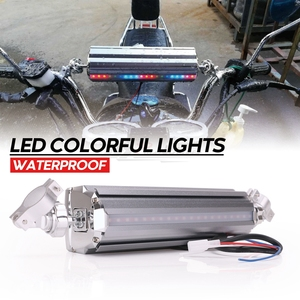 Image 5 - Universal Motorcycle Audio Waterproof Motorcycle bluetooth MP3 USB FM Speaker Sound System  Radio Stereo Speaker
