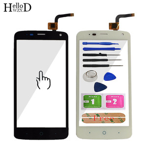 Image 2 - 100% Touch Screen Digitizer Glass Panel For ZTE Blade L2 plus L370 C370 L2Plus Front Touchscreen Adhesive+ Screen Protector Gift