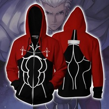 Game Fate/stay night Costume Hoodie Cosplay Anime Sweatshirts Men Women Jackets 2019 New