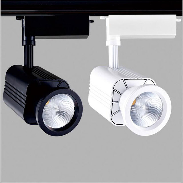 two wire connect 30W High Light effect LED Track light 220V lamp ...