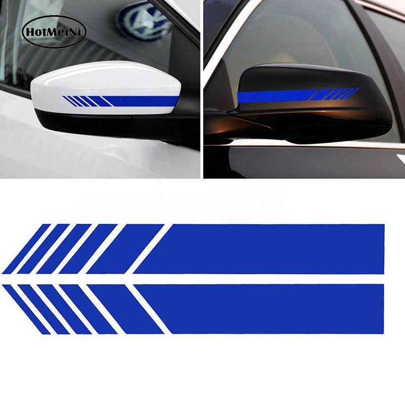HotMeiNi 15.3*2 سنتيمتر 2 قطعة السيارات التصميم السيارات SUV الفينيل الرسم سيارة ملصق مرآة الرؤية الخلفية الجانب ملصق لاصق ألواح رسومات للسيارات يمكنك تركيبها بنفسك الجسم الشارات