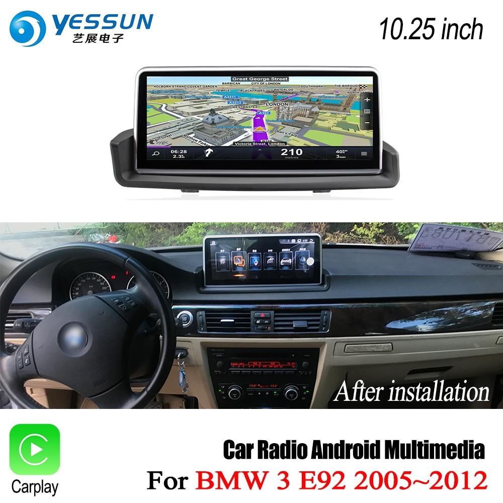 YESSUN для BMW 3 серии E92 2005 ~ 2012 ID6 Сенсорный экран автомобиля Android Carplay gps карты карта навигатор навигации игрока Wi Fi стерео аудио