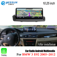 YESSUN For BMW 3 Series E92 2005~2012 ID6 Touch Screen Car Android Carplay GPS maps map Navi Navigation Player wifi Stereo Audio
