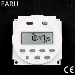 CN101A цифровой таймер с ЖК-дисплеем, 12 В, 24 В, 110 В, 120 В, 220 В, 230 В, 240 В