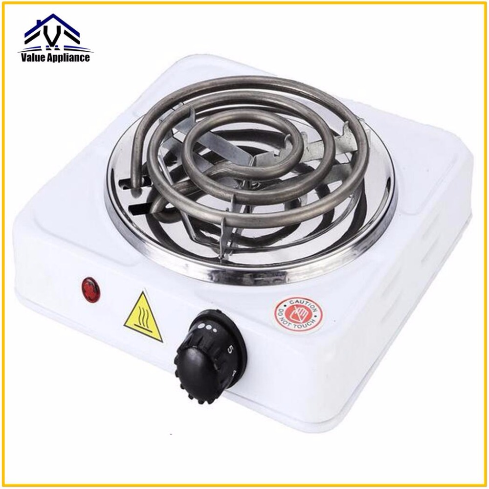 High Quality 220V 1000W Burner Electric stove Hot Plate kitchen portable coffee heater Design Hotplate Cooking Appliances