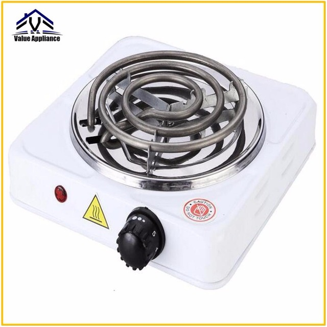High Quality 220V 1000W Burner Electric Stove Hot Plate Kitchen Portable  Coffee Heater Design Hotplate Cooking