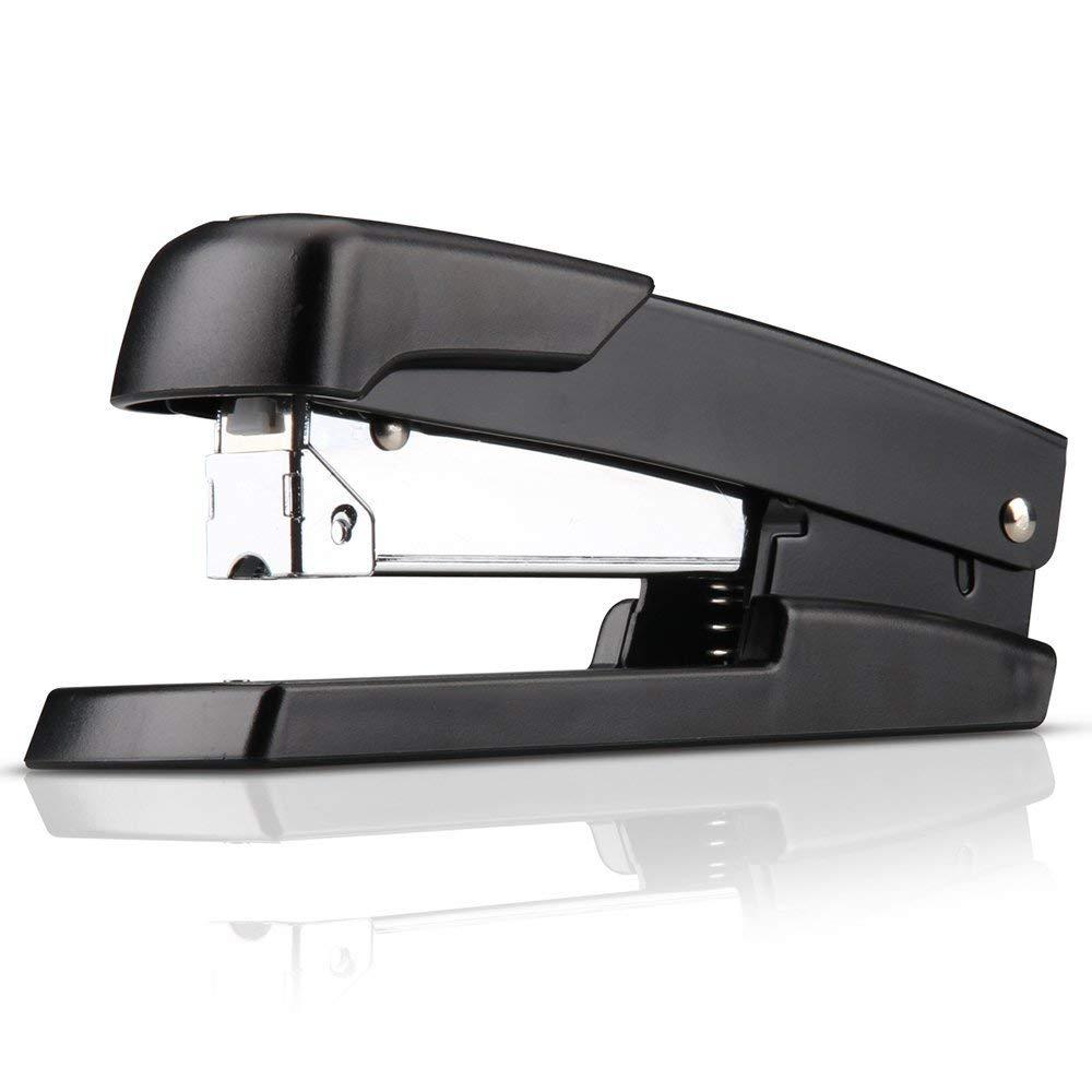 MyLifeUNIT Desktop Stapler 50 Sheets Paper Metal Safe Heavy Duty Stapler For Office School Supply