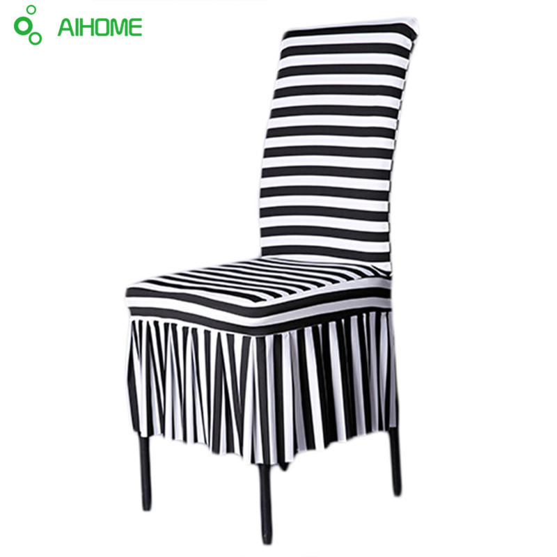 Chair Cover New Fashion Chair Cover Wedding Decoration Solid Colors Polyester Spandex Diner Chair Covers For Wedding Party 6pcs Punctual Timing Table & Sofa Linens