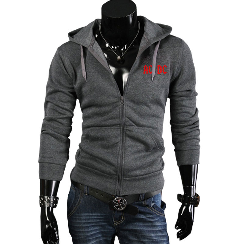 Image 2 - Autumn Winter New fashion AC/DC band rock sweatshirt Mens acdc Graphic hooded men Print Casual hoodies hip hop brand tracksui-in Hoodies & Sweatshirts from Men's Clothing