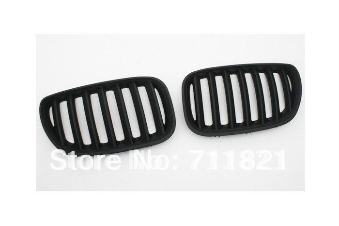 Euro Matte Black Kidney Front Grille For BMW E53 X5 2004-2006 босоножки stuart weitzman stuart weitzman st001awhng35